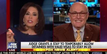 Rudy Giuliani Takes Credit For The Muslim Ban