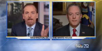 Chuck Todd Admonishes Priebus: 'Why Whitewash Jews From' Holocaust Statement?