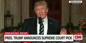 Trump Botched Judge Gorsuch's Nomination Introduction