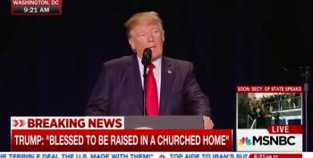 Trump Panders To Evangelical Base, Will 'Totally Destroy' Johnson Amendment