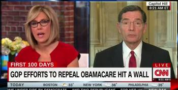 Senator Barrasso Defends Naked Pander To NRA