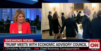 CNN's Chief Business Reporter: Trump Accepting Jobs Numbers After Calling The A Hoax
