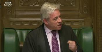 Speaker Bercow: Trump Should Not Speak In Parliament