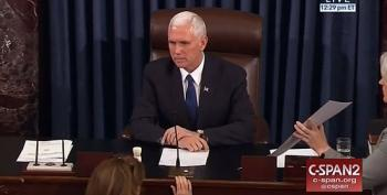 VP Mike Pence Casts Historic Tie Breaking Vote To Confirm Betsy DeVos 51-50