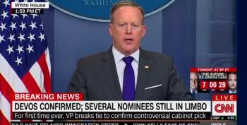 CNN Refutes Spicer's Claim They 'Walked Back' Refusing To Book Kellyanne Conway