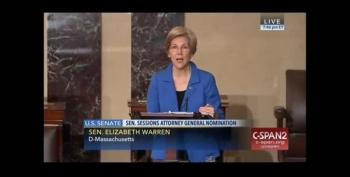 Snowflake McConnell Shuts Down Senator Warren Over Sessions Speech (UPDATED)