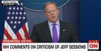 Sean Spicer: Coretta Scott King Would Support Senator Sessions' Nomination