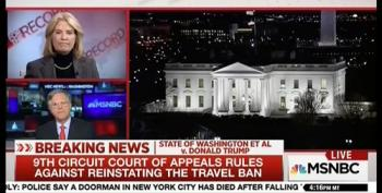 Pete Williams Reports On 9th Circuit's Ruling On Muslim Ban