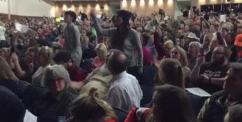 Chaffetz Town Hall Crowd Chanting 'Do Your Job!'