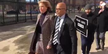 Protesters Physically Block Betsy DeVos From Entering DC Public School