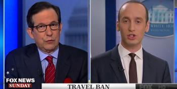 "Stephen Miller Calls Chris Wallace' Question 'Ludicrous"" On Trump Attacking Judges"