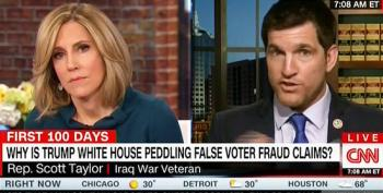 Rep. Scott Taylor Finally Admits He Wants To See Evidence Of Claims Of Massive Voter Fraud