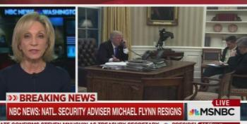 Andrea Mitchell:  'Did [Flynn] Do This At The Direction Of Someone Else Including The President?