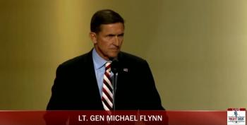 Gen. Michael Flynn At The Republican National Convention 2016