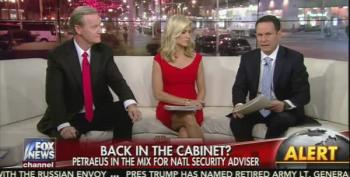 Fox And Friends: Hillary Would Have Picked Gen. Petraeus For Secretary Of State