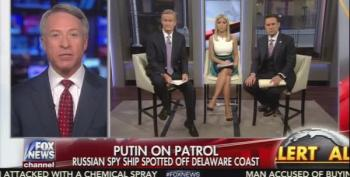 Fox And Friends: Obama Was Weak On Russia Turns Into Trump's Twitter Feed