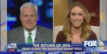 Fox News Blames Obama For Town Hall Protests