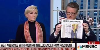 Joe Scarborough: WSJ Is Now Bending Over Backwards For Trump