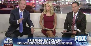 Fox And Friends In Sync With Trump Again! 'Russia Is Fake News'