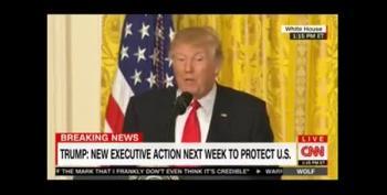 Trump Slurs Words Talking About Obamacare