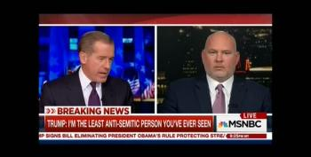 Steve Schmidt Tries To Explain Trump's Strange Answer To Jewish Journalist