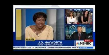 Joy Ann Reid Kicks Birther JD Hayworth Off Her Show