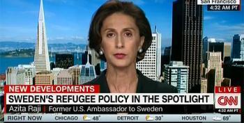 Fmr U.S. Ambassador To Sweden Smacks Trump On Refugee Claims