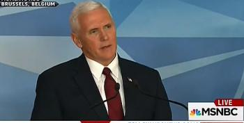 Vice President Pence: 'Disappointed' Gen. Flynn's 'Facts Were Inaccurate,' To Me