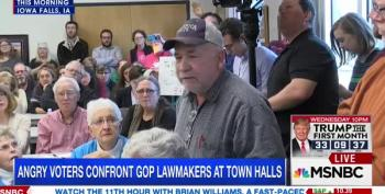 Iowa Voter To Grassley: 'You're Gonna Create One Great Big Death Panel!'