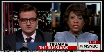 Maxine Waters:  Rex Tillerson Is A Scumbag