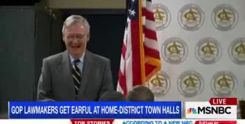 GOP Tries Techniques To Avoid Town Hall Embarrassment