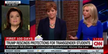 CNN Panel Explode Over Trump's Order To Strip Away Protections For Transgender Students