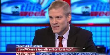 Rep Jim Jordan Says No To Special Prosecutor Because He Couldn't Have One For Obama