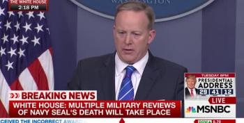 Sean Spicer: Fallen Navy Seal Knew The Risks