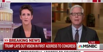 Maddow Won't Let Hugh Hewitt Spin Trump's Lies On Yemen Raid