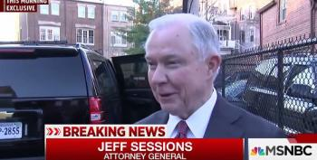 Sessions Denies Meeting With Russians Re Political Campaign