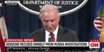 Sessions Recuses From Some Investigations; Offers Lame Excuses For Russia Interactions