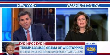 Huckabee Sanders: Trump Thinks FBI Director Lied About Wiretaps