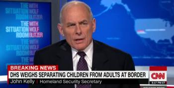 DHS Secretary Considering Separating Immigant Children From Their Parents