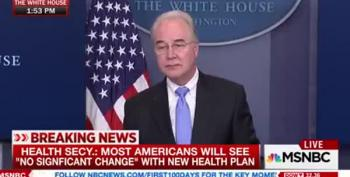 Tom Price Dodges Obamacare Question Everyone Is Asking