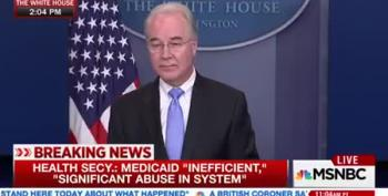 HHS Secretary Tom Price Lied, Or Hasn't Read The Bill He's Selling