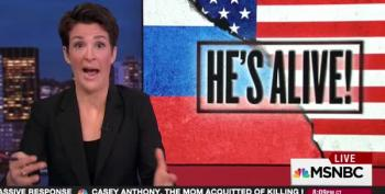 Rachel Maddow: Likely Trump Campaign Actively Colluded With Russians