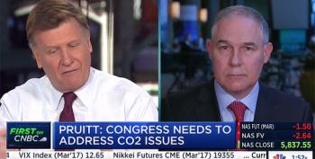 EPA's Pruitt: CO2 Isn't 'Primary Contributor To Global Warming'