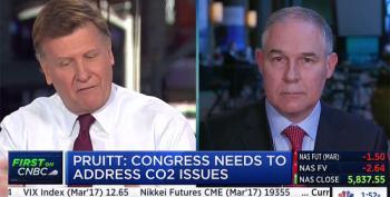 EPA's Pruitt: CO2 Isn't 'Primary Contributor To Global Warming'