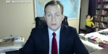 BBC Interview Goes Horribly And Hilariously Wrong