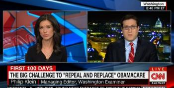 CNN Anchor Allows Washington Examiner Editor To Spew Lies About ACA Repeal
