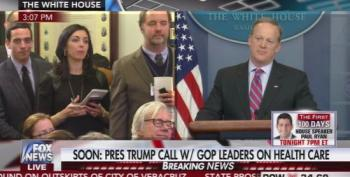 Sean Spicer: There Are Better Ways To Surveil Trump Than Microwaves