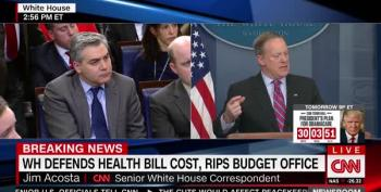 Reporter Confronts Spicer: 'Medicare Is Government-Run, People Like It!'