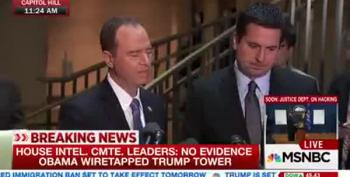 House Intel Committee Leaders: 'No Evidence' On Trump Wiretap