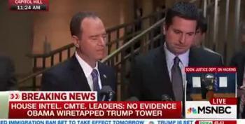 House Intel Committee Leaders: 'No Evidence' On Trump Wiretap